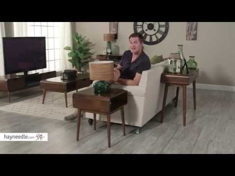 Belham Living Carter Mid Century Modern Side Table - Product Review Video