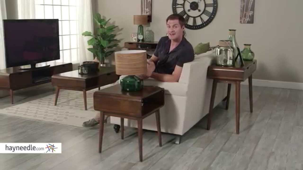 belham living carter mid century modern side table product review video youtube