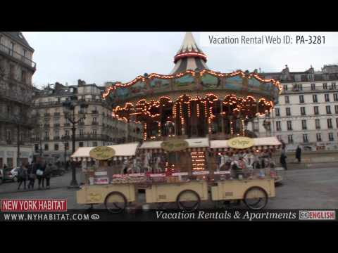 Paris, France: Video Tour of a Vacation Rental in Le Marais (rue Rambuteau)