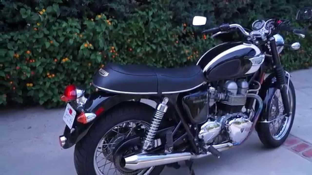 2007 TRIUMPH BONNEVILLE T100 15000 MILES CLEAN T-100 CLASSIC/VINTAGE  MOTORCYCLE