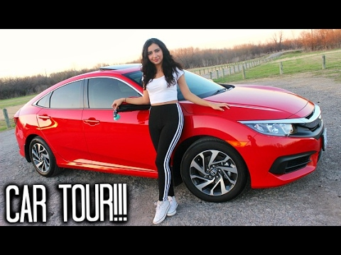 MY FIRST CAR TOUR!!! 2017 Honda Civic EX
