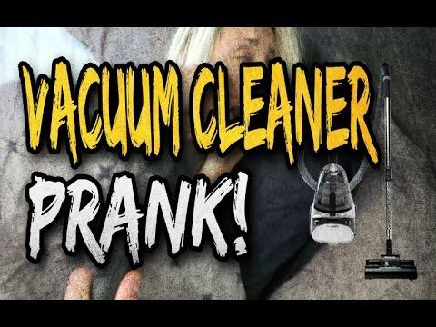 Vacuum cleaner prank