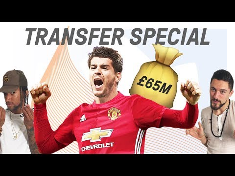 Alvaro Morata to Replace Zlatan at Man United? | Comments Below Transfer Special