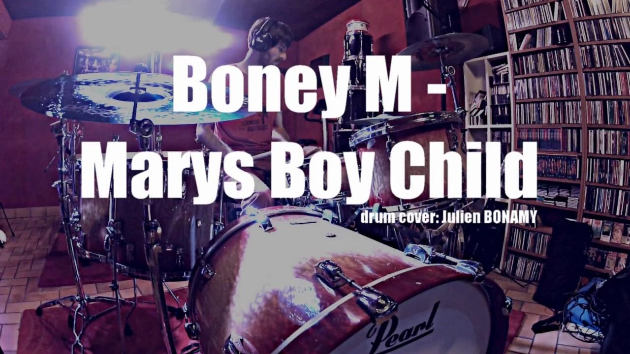 Boney M Marys Boy Child -Oh My Lord Drum cover - julien bonamy - YouTube