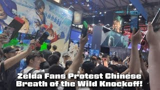 Zelda Fans Protest Chinese Breath Of The Wild Knockoff On Ps4