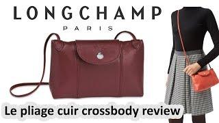 รีวิวกระเป๋า Longchamp Le Pliage Cuir Crossbody
