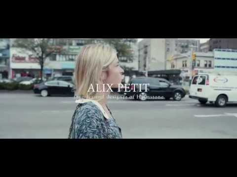 """AlixPetit, French designer & founder of """"Heimstone"""" in NYC is part of """"Martell France 300"""" talents"""