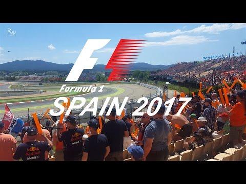 Formule 1 Grand Prix van Spanje 2017 vanaf de Nederlandse G-Tribune