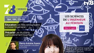 7/8 L'Hebdo. Edition du vendredi 22 novembre 2019