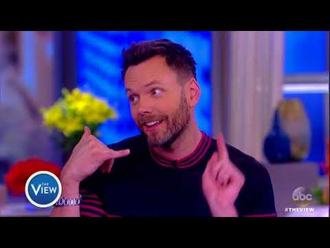 Joel McHale Gets Confronted By Nancy Grace, Talks Hot Topics  The View