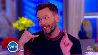Joel McHale Gets Confronted By Nancy Grace, Talks Hot Topics | The View