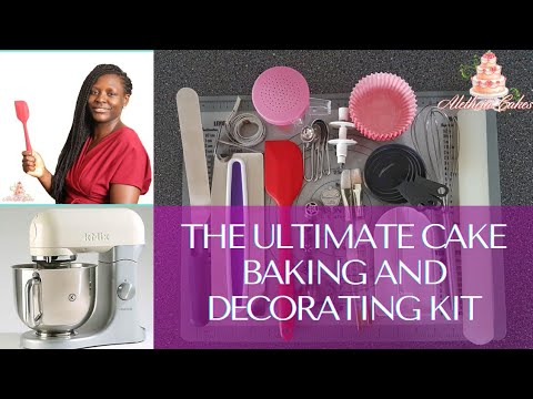 The Ultimate Cake Baking And Decorating Kit In 2020 | Cake Baking Tools For Beginners In 2020