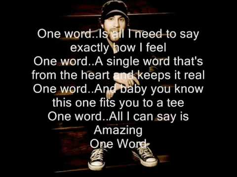 One word by Elliot Yamin