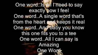 Download One word by Elliot Yamin MP3 song and Music Video