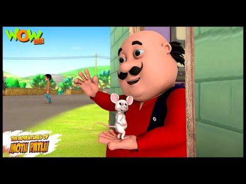 Chuha Daud Billi Aayee - Motu Patlu in Hindi - 3D Animation Cartoon for Kids -As seen on Nickelodeon