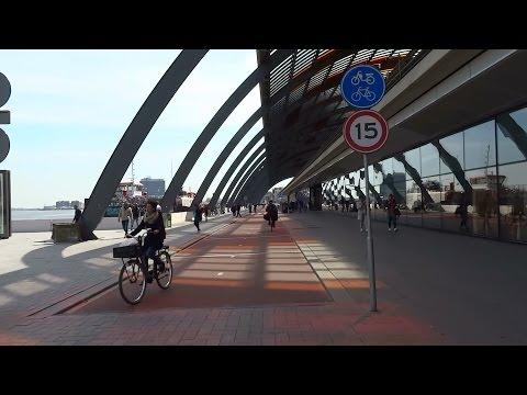 Fietspad IJ-zijde Amsterdam Centraal Station
