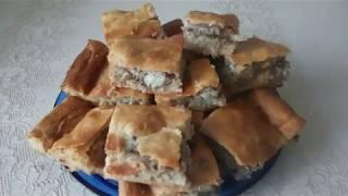 Рыбный пирог из сливочного теста, Это очень вкусно. Первое, что съедается за столом.