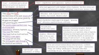Boey Kim Cheng - 'The Planners' - Annotation