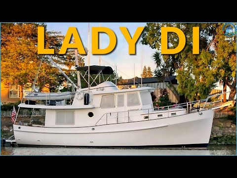 Trawler for Sale – Kadey-Krogen 39 – LADY DI - Offered by JMYS