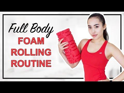 Full Body Foam Rolling Routine | 7 Foam Roller Exercises