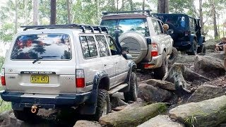 Jeep vs Nissan vs Toyota @ The Rock Garden Ourimbah