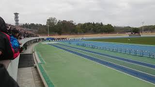100m走 小学生記録樹立@ならでんフィールド
