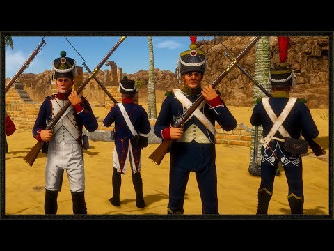 The Old Guard - French Vs British Line Battle -Holdfast: Nations At War Gameplay
