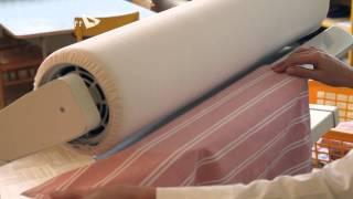 видео: Гладильная машина Лаванда