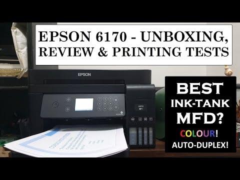 Epson L6170 Unboxing, Review, Test Prints   Best Ink-Tank Printer, Scanner, Copier   Value for Money
