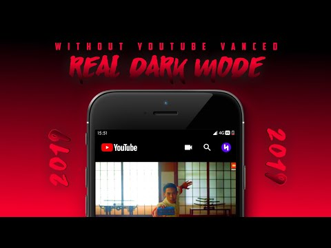 Enable Amoled Dark Mode In Official Youtube - Without Using Youtube Vanced Modd | Real Dark Mode 🔥