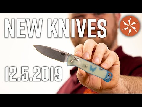 New Knives For The Week Of December 5th Just In At KnifeCenter.com