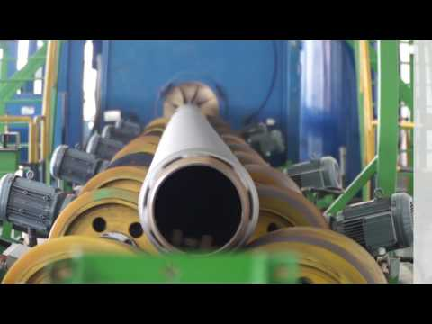 Wheelabrator Pipe Shot Blast Solution For CNOOC