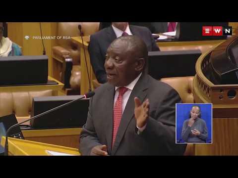 Ramaphosa: Shut up Steenhuisen
