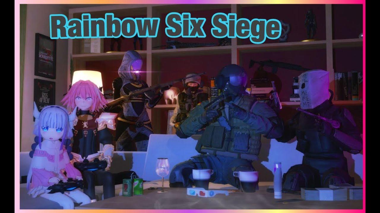 Casual RAINBOW SIX SIEGE Player:)