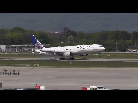 Plane Spotting at Geneva Airport | May 7th 2016