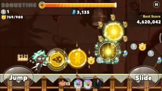 COOKIE RUN Mint Choco Cookie + pet farming coins