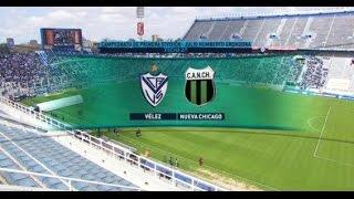 Fútbol en vivo. Vélez - Nueva Chicago. Fecha 27 Torneo Primera División 2015. FPT.