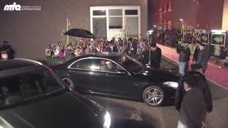 Urdu News -  Hazoor's Arrival in Frankfurt Germany 2015