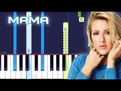 Clean Bandit – Mama (feat. Ellie Goulding) Piano Tutorial EASY (Piano Cover)