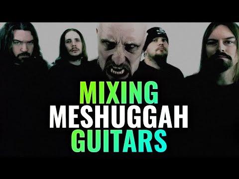Tue Madsen mixing MESHUGGAH guitars