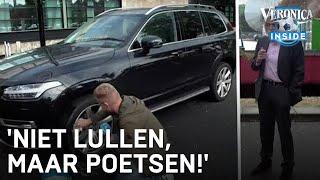 Dennis wast auto van Johan: 'Niet lullen, maar poetsen!'