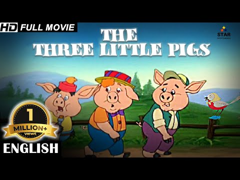 THREE LITTLE PIGS - Full Kids Movies In English | English Movie for Kids | English Cartoon