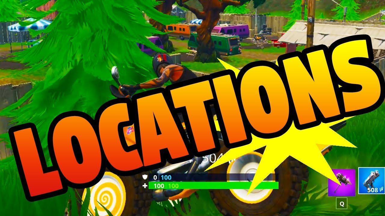 Best Places To Find A Quadcrasher In Fornite Season 6 Guide Youtube