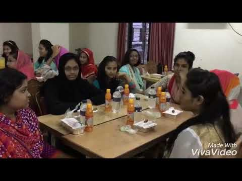 Girls Hostel (Cambrian College, Dhaka) Eftar 29th May 2018