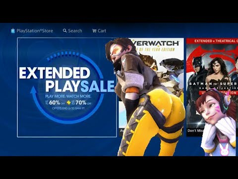 PS4 Extended Sale is a STEAL