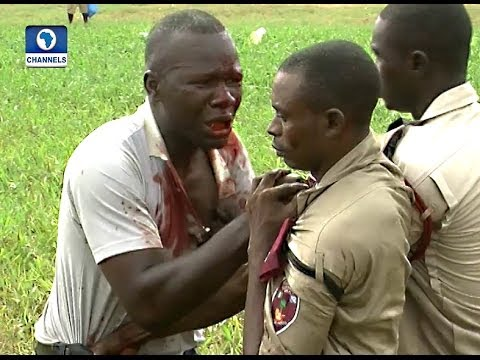 Traffic Control: FRSC Officers In Bloody Scuffle With Bus Driver