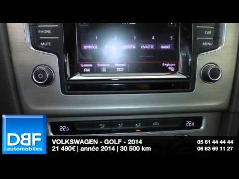 annonce occasion volkswagen golf 1 6 tdi 105 fap bluemotion technology confortline dsg 5 2014. Black Bedroom Furniture Sets. Home Design Ideas