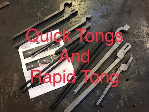 Quick Tongs and Rapid Tongs from Kens Custon Iron - tool review