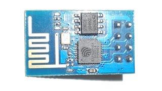 ESP8266 ESP01 обзор возможностей
