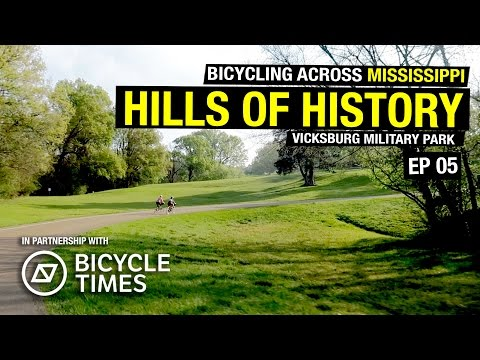 Biking Across Mississippi - Day 4 - Vicksburg Military Park Loop
